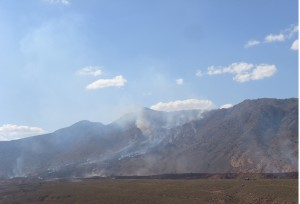 جبل الشعانبي بين لهيب النار و لهيب الارهاب